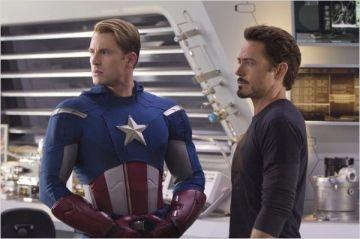 Capitao America e Homem de Ferro