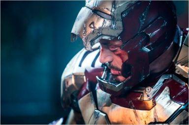 Homem de Ferro machucado