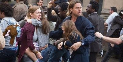 Familia e Brad Pitt