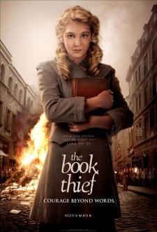 Cartaz a menina que roubava livros