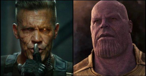 Thanos e Cable